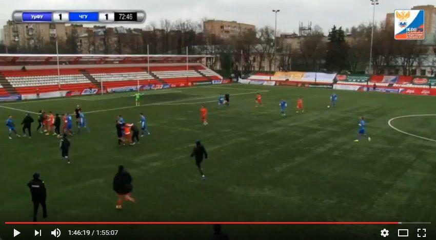 Матч скомандой изЧечни стал кровавым для уральских футболистов