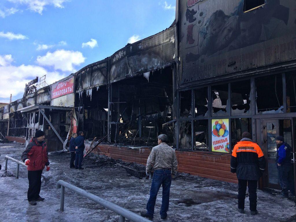 Милиция возбудила дела оподжогах после пожаров в 2-х ТЦнаЯмале
