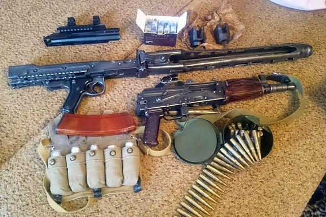 Гражданин Коркино сохранял начердаке самодельные гранатомет иавтомат