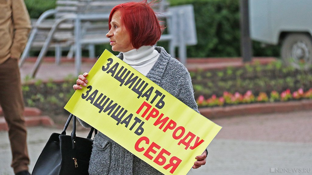 «СтопГОК» вышел на политический уровень (ФОТО, ВИДЕО)