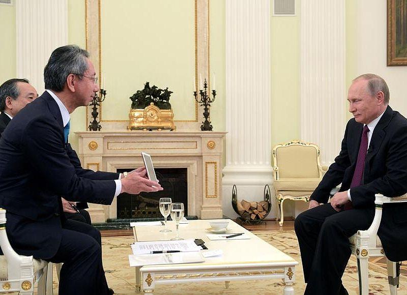 Идут обсуждения посовместной деятельности наКурилах— Путин иАбэ