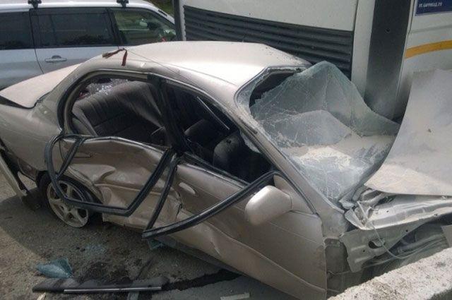 Массовое ДТП: 12 авто столкнулись втумане наБердском шоссе