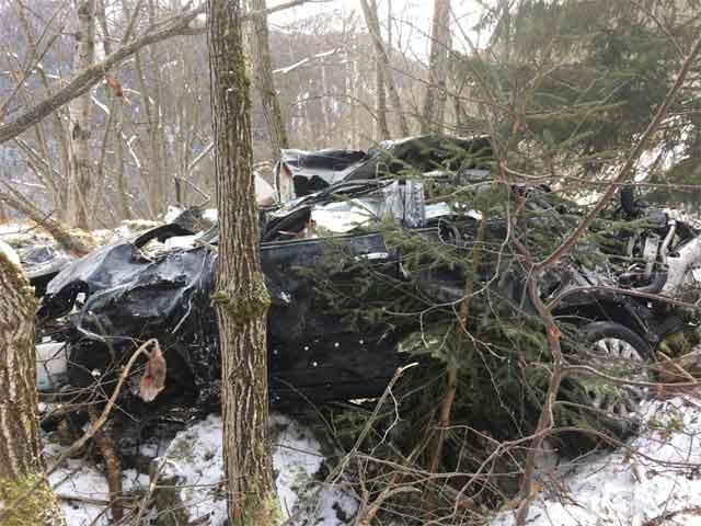 ВШвейцарии в итоге ДТП погибли двое граждан России