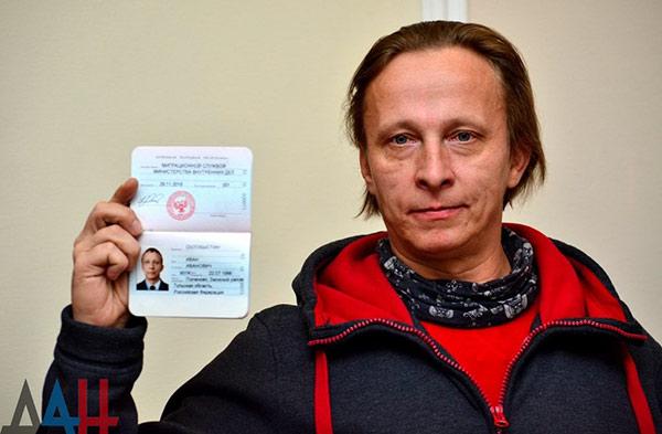 Иван Охлобыстин получил гражданство Донецкой народной республики