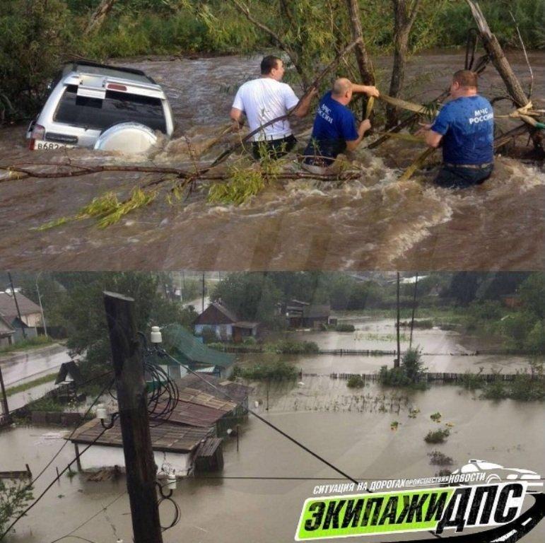 ВПриморском крае начали эвакуацию граждан села из-за последствий тайфуна