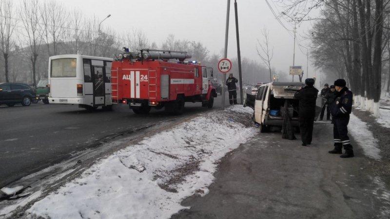 5 человек пострадали вДТП сучастием пассажирского автобуса вАртеме