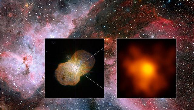 Ученые получили новые фото звезды, способной убить жизнь наЗемле