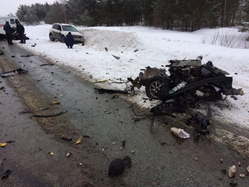 Пермь: ВАЗ-2115 разорвало вклочья натрассе Екатеринбург