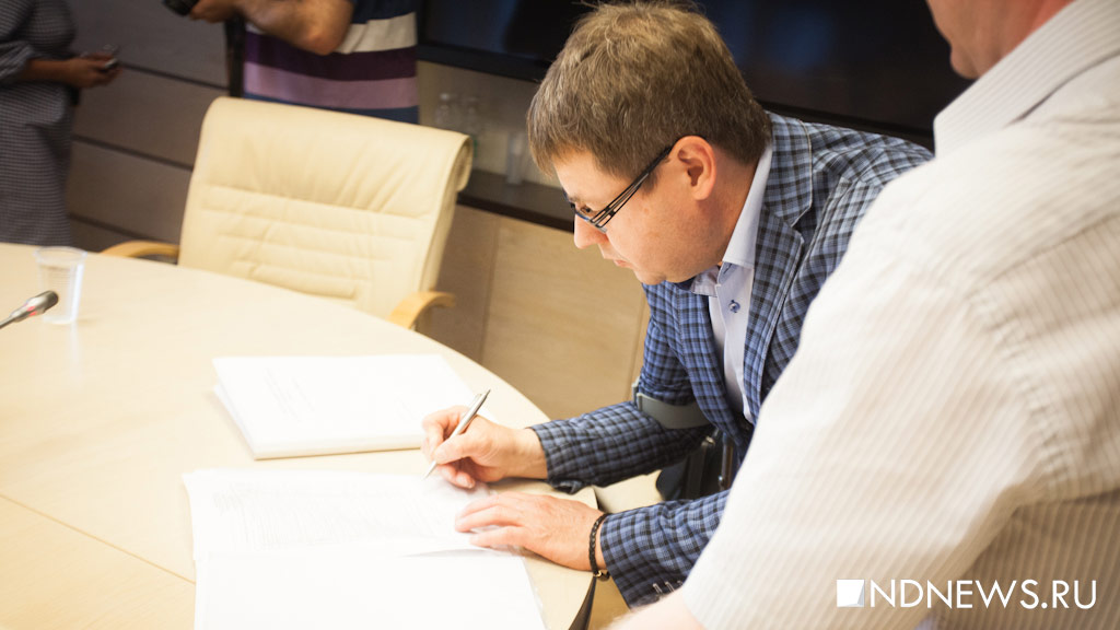 Кандидат вгубернаторы Дмитрий Сергин подал документы нарегистрацию