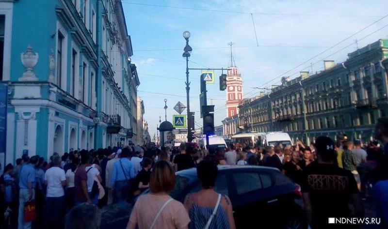 Позор пенсионной реформы: полиция провела массовые задержания в центре Петербурга (ФОТО, ВИДЕО)