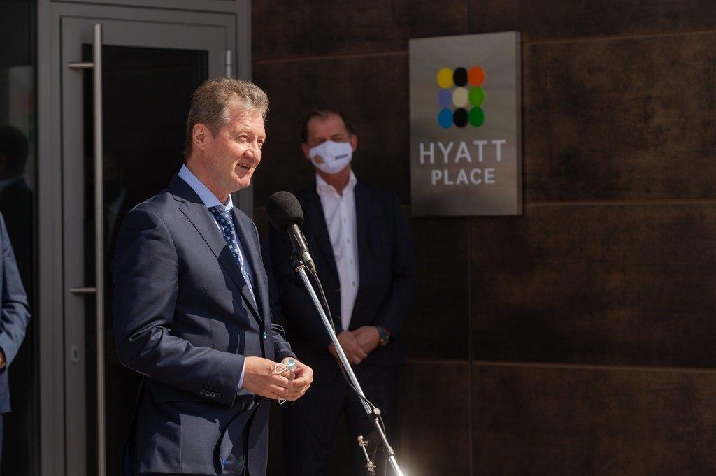Возле «Екатеринбург Арены» открыли отель Hyatt Place Ekaterinburg (ФОТО)
