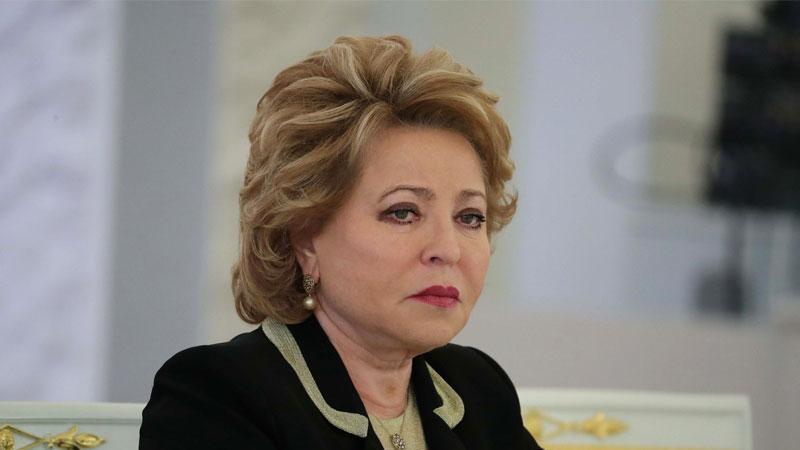 Матвиенко попросила тюменского сенатора срочно позвонить губернатору Моору