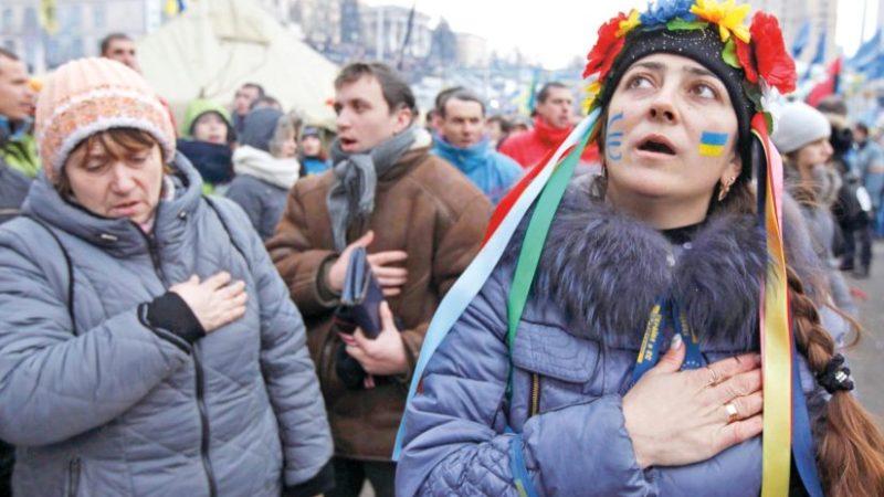 На Украине число пессимистов увеличилось на 44% с начала года