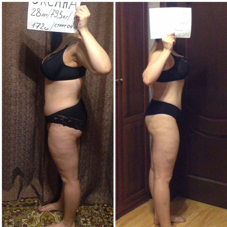 Сбросить максимум веса за неделю