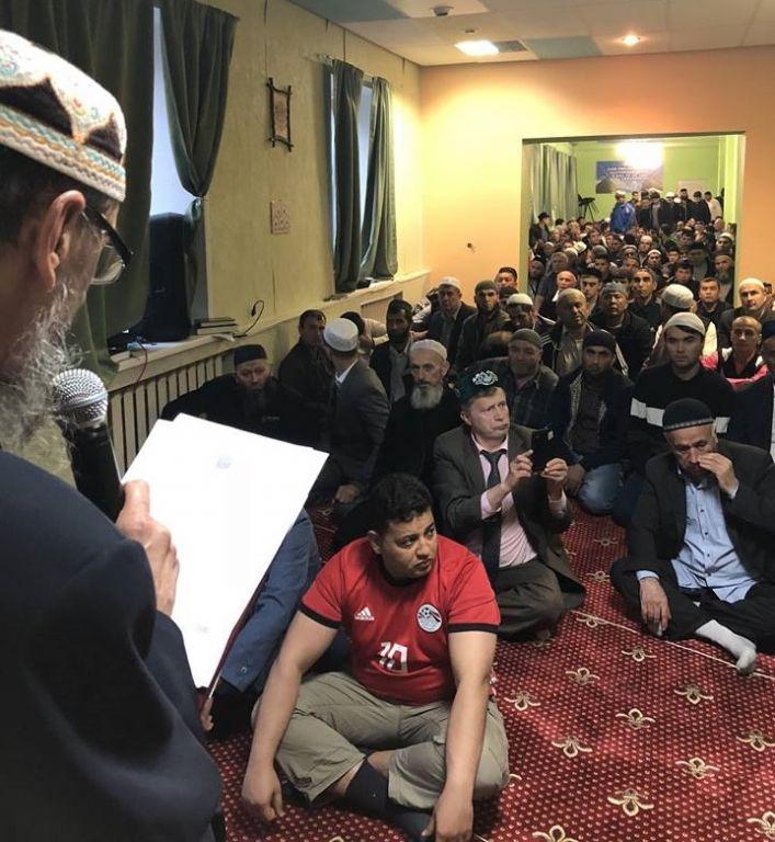 Новый День: Египтяне пригласили имама в гостиницу