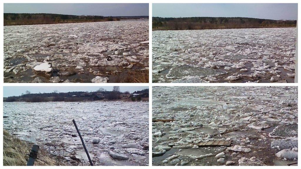 Новый День: На Среднем Урале ждут усиления паводка: реки вскрылись досрочно (ФОТО)
